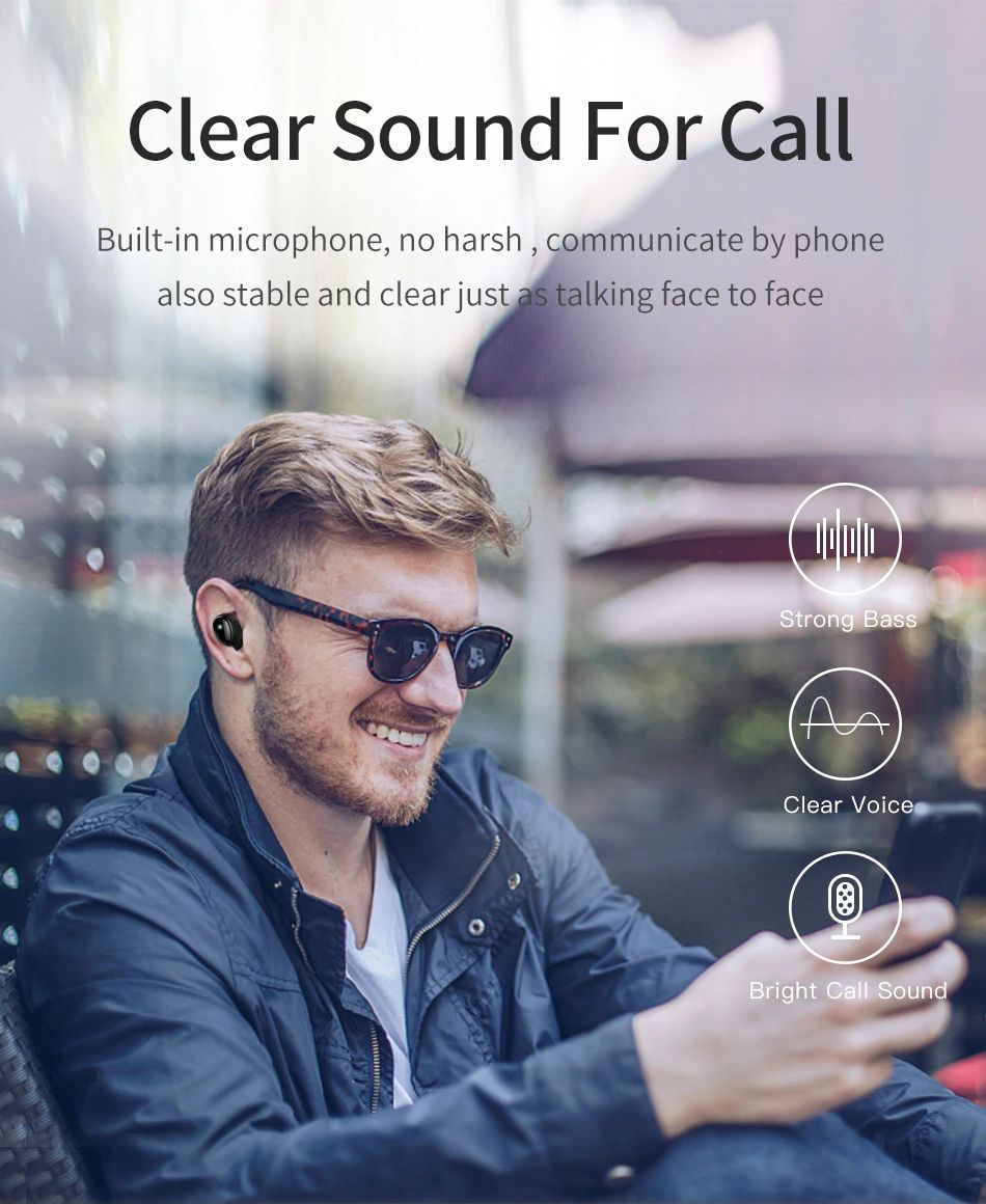 Awei T5 Tws Bluetooth Earphones (4)