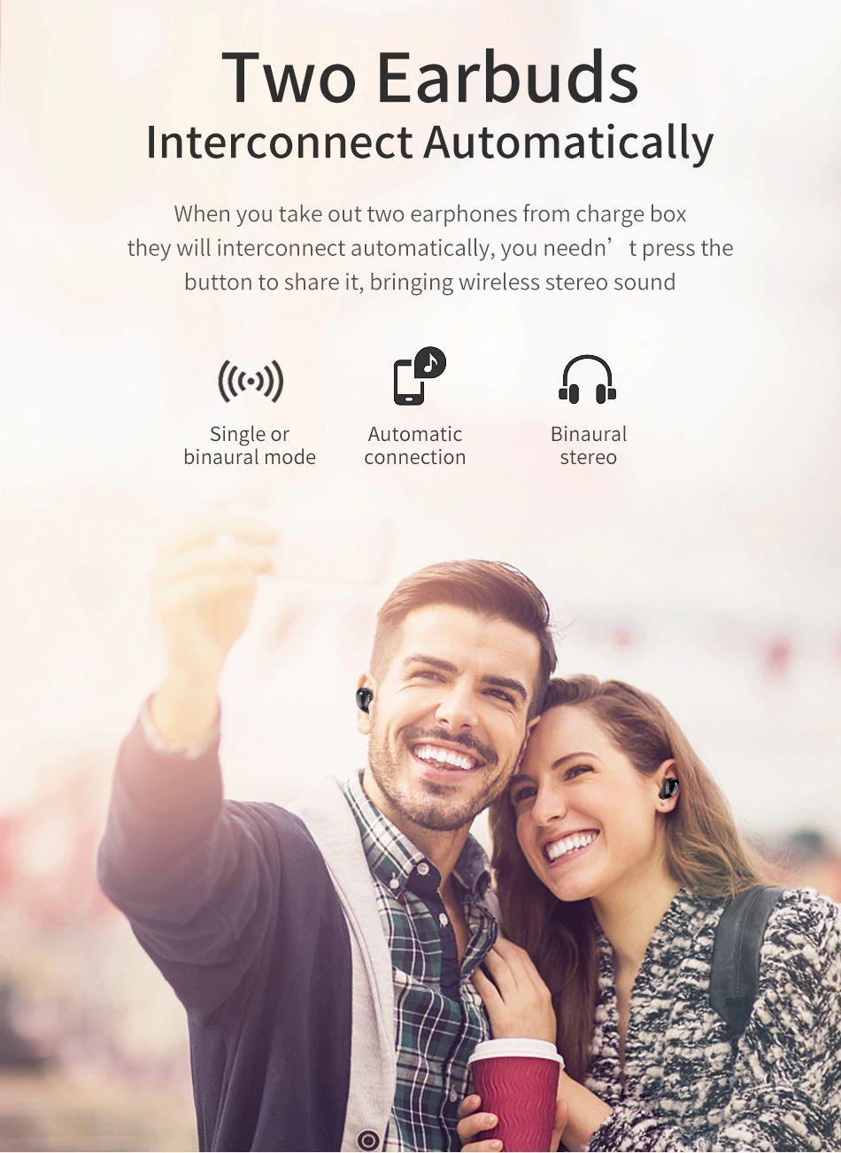 Awei T5 Tws Bluetooth Earphones (6)