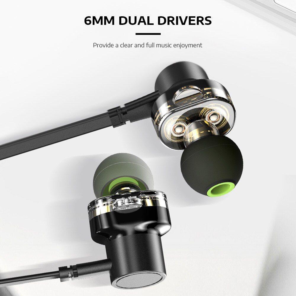 Awei Z1 In Ear Dual Dynamic Earphones (6)