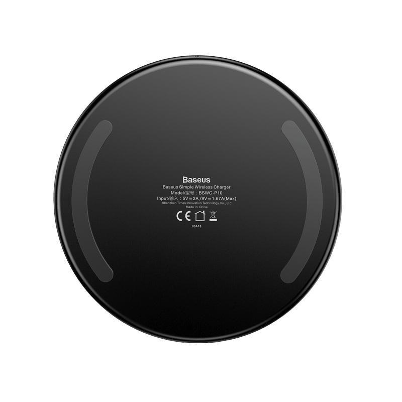 Baseus 10w Transparent Wireless Charger (1)