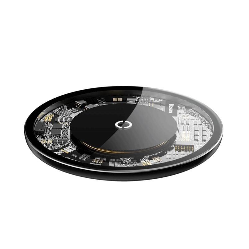 Baseus 10w Transparent Wireless Charger (5)