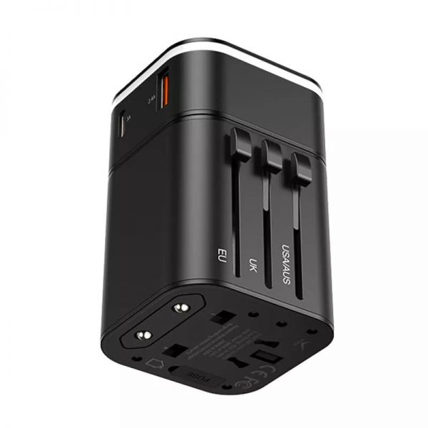 Baseus 2 In 1 Global Conversion Charger 18w (2)