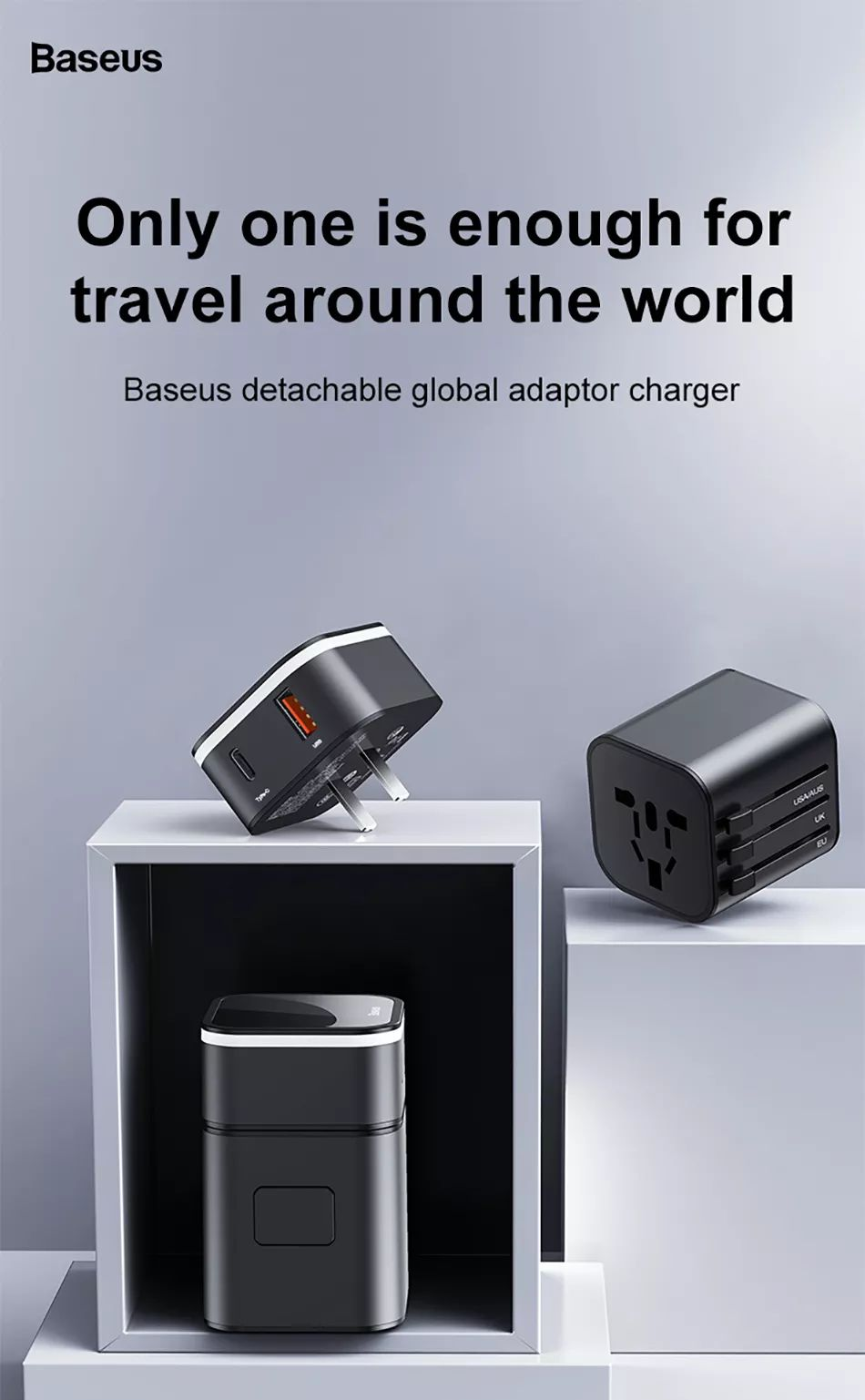 Baseus 2 In 1 Global Conversion Charger 18w (3)