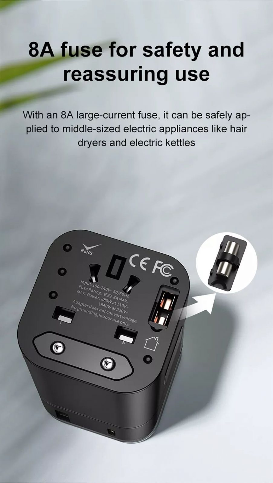 Baseus 2 In 1 Global Conversion Charger 18w (6)