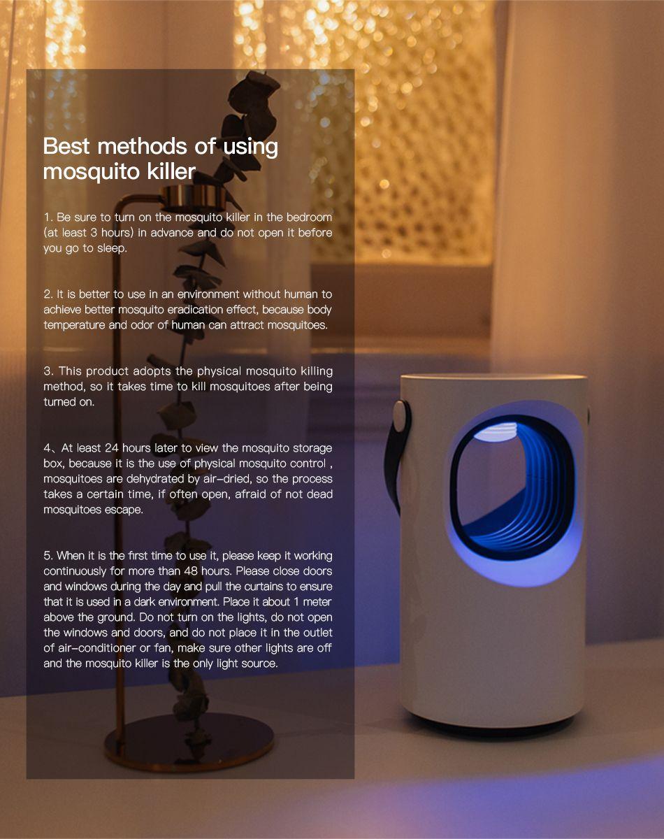 Baseus Mosquito Killer Lamp Usb (1)