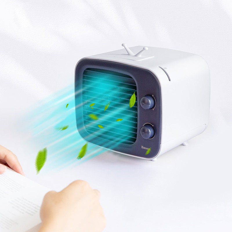 Baseus Usb Cooling Fan Mini Desktop Air Conditioner (19)