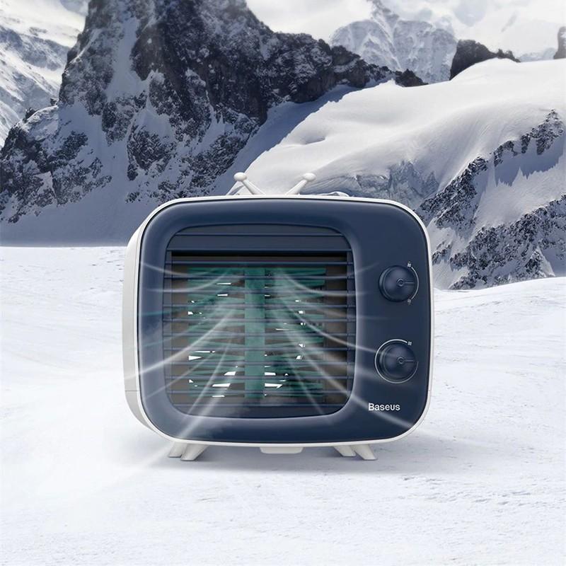 Baseus Usb Cooling Fan Mini Desktop Air Conditioner (4)