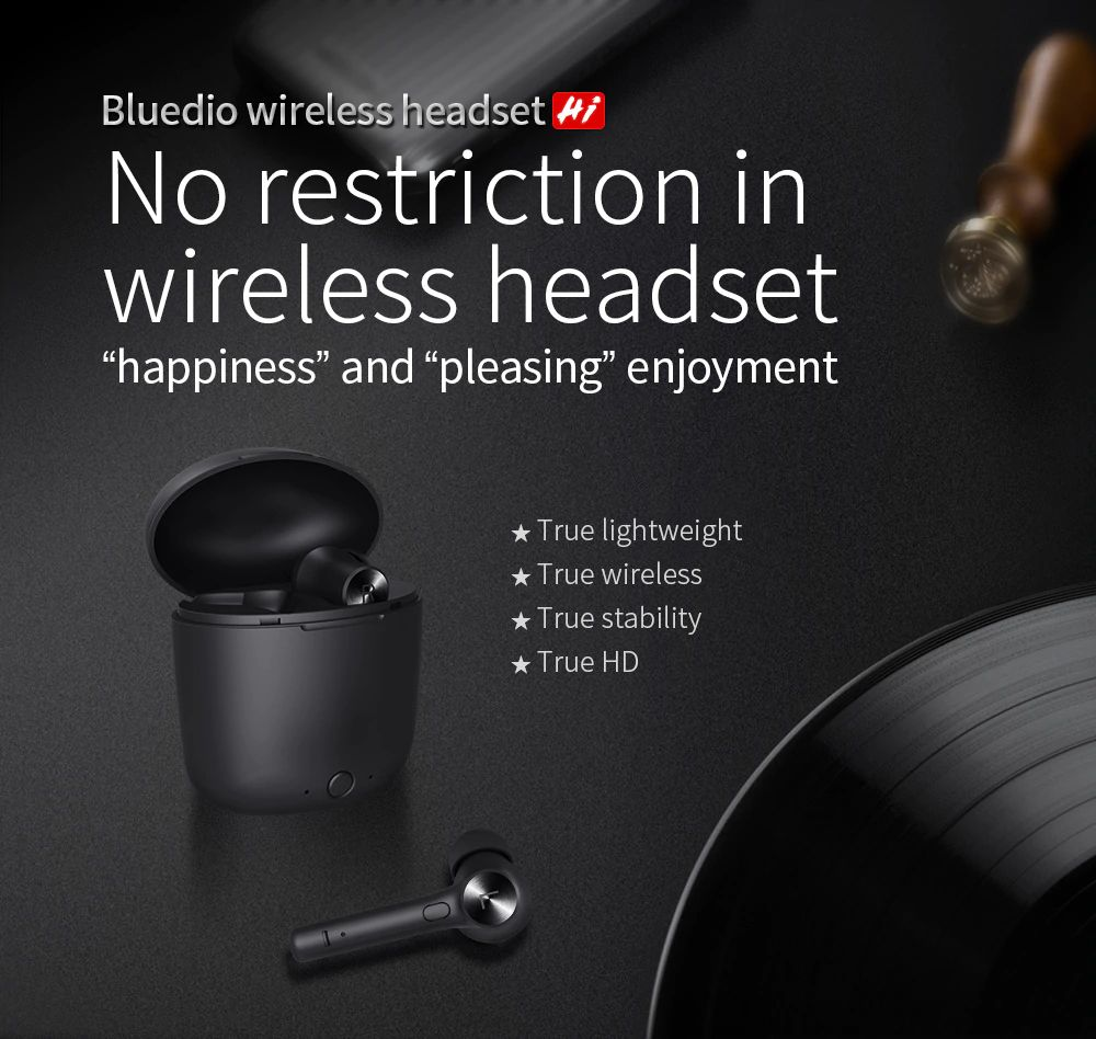 Bluedio Hi Wireless Bluetooth Earphone (1)