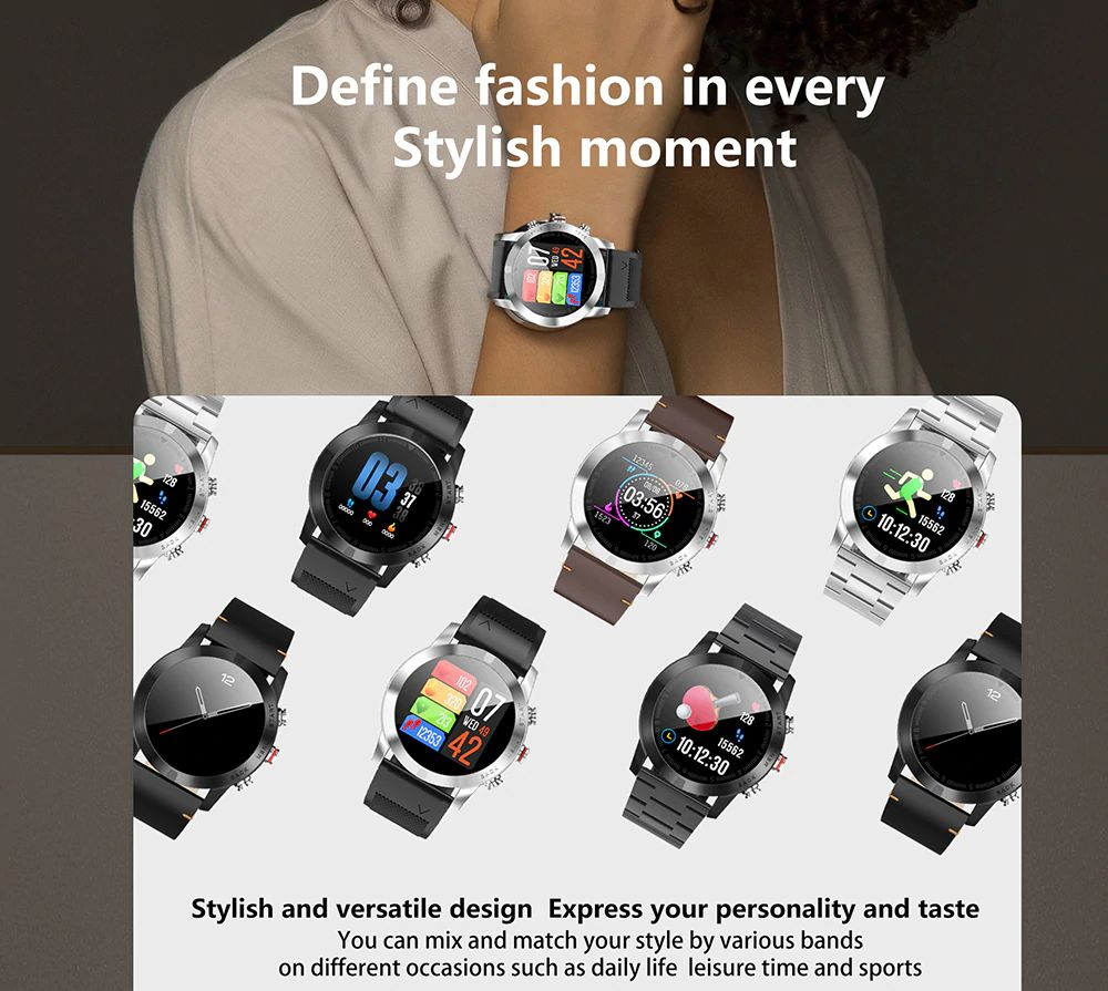 Dt No1 S10 Full Touch Smartwatch (10)