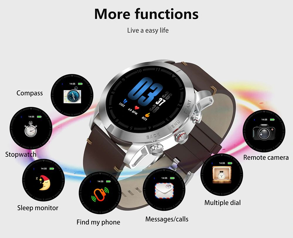 Dt No1 S10 Full Touch Smartwatch (5)