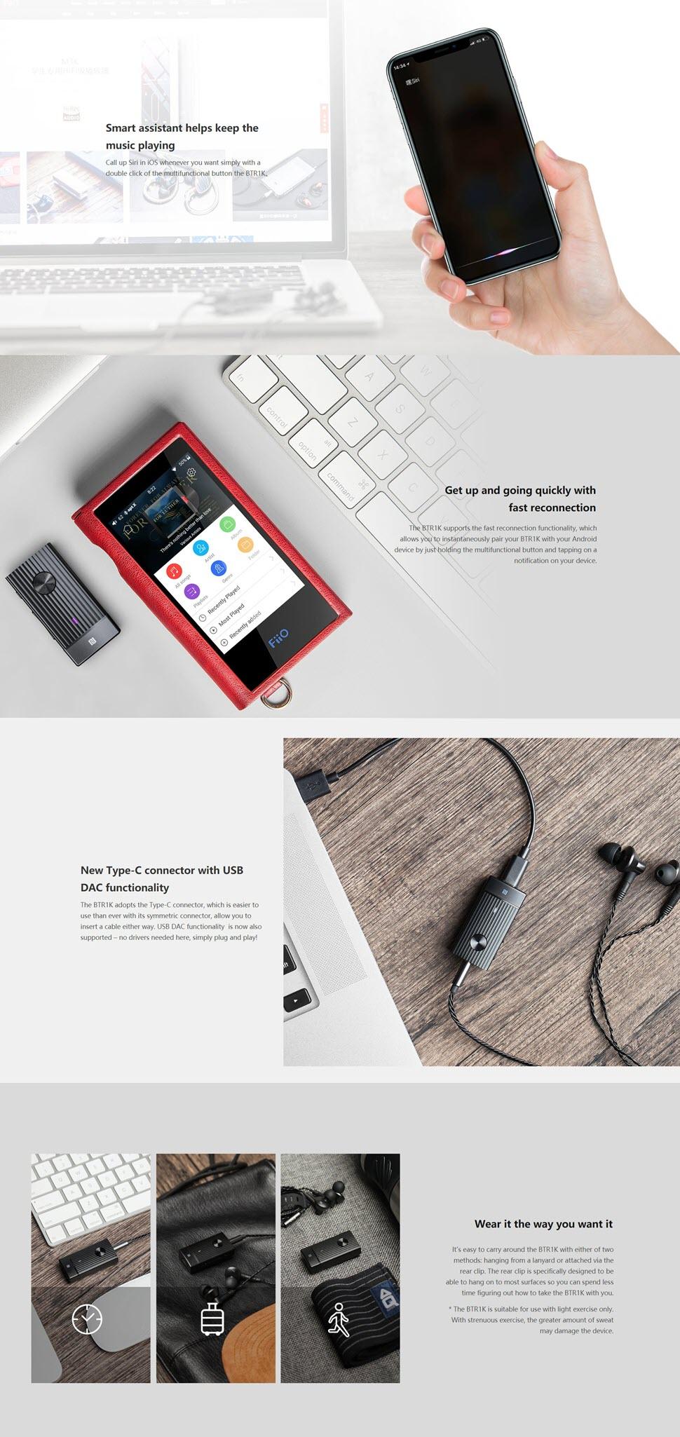 Fiio High Fidelity Bluetooth Amp Btr1k (4)