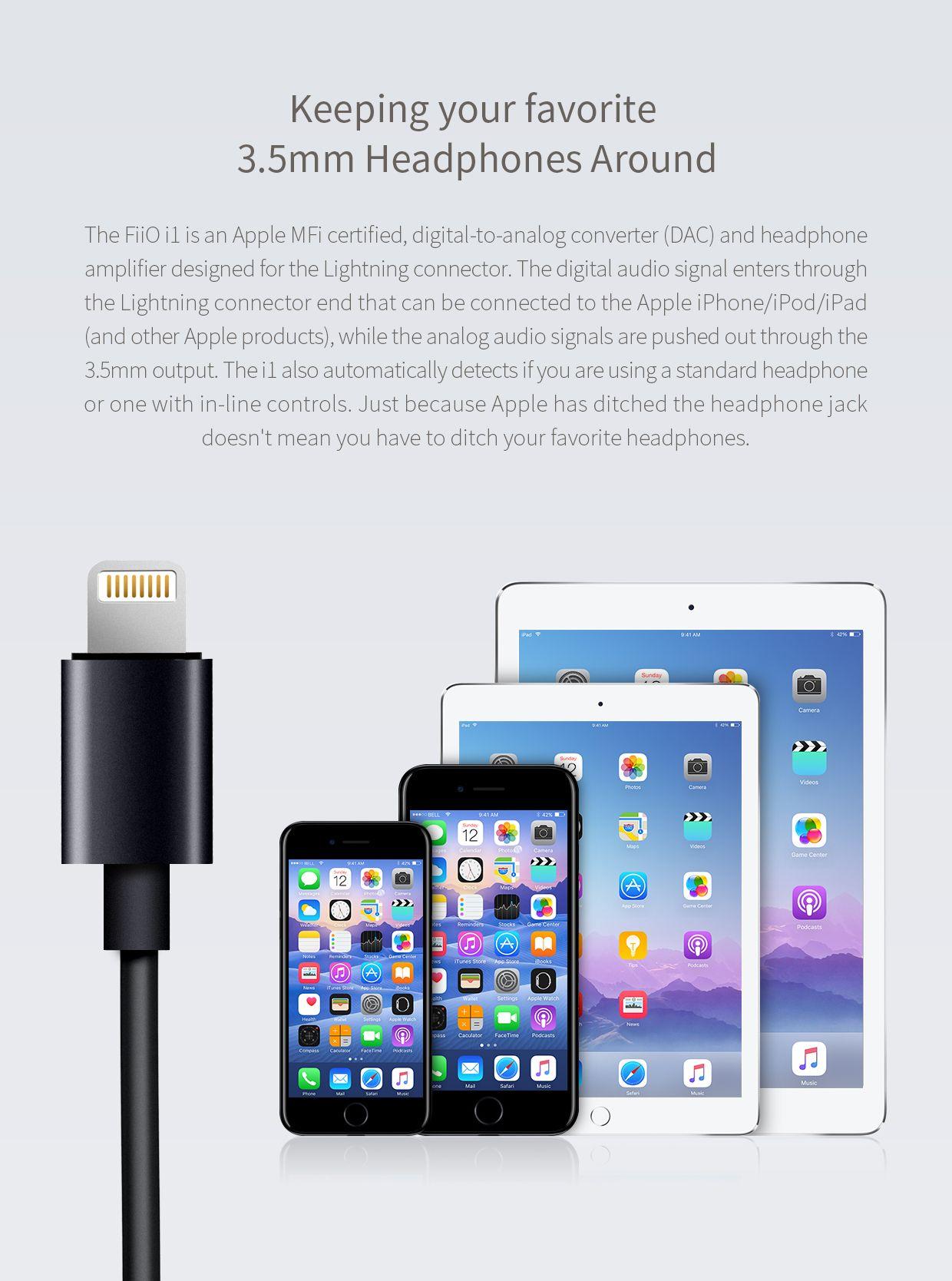 Fiio I1 Apple Lightning Amplifier (2)