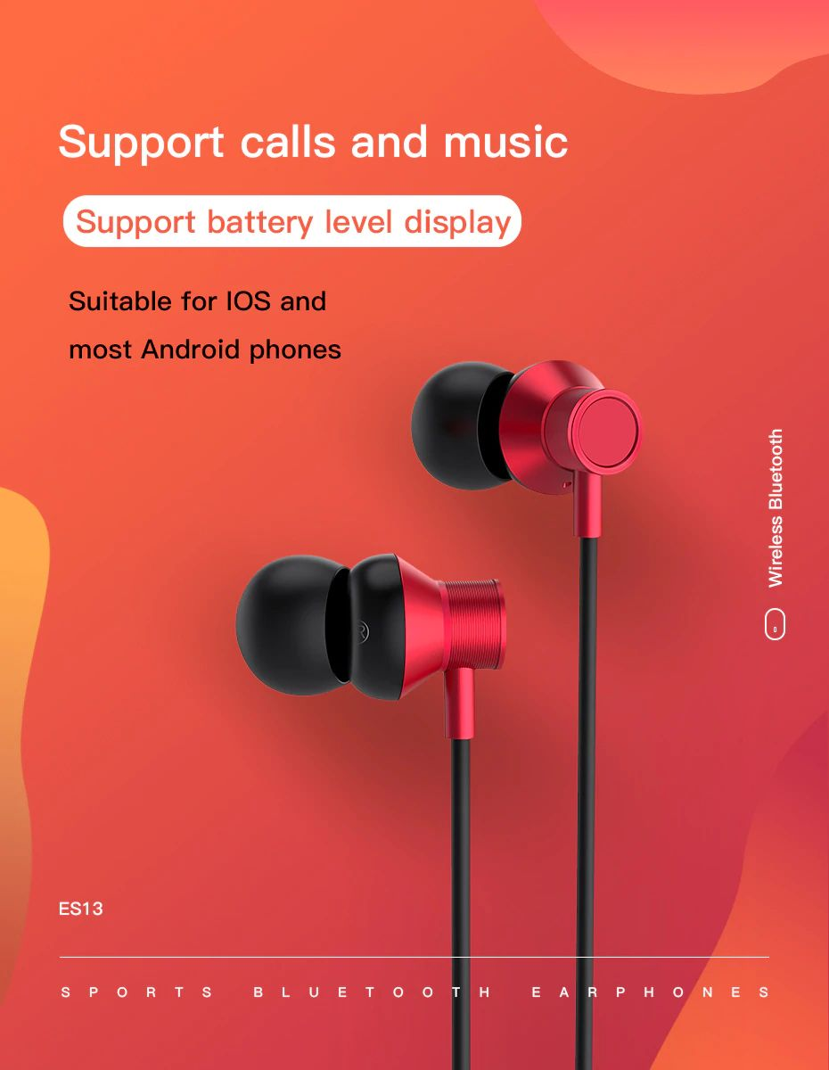Hoco Es13 Exquisite Sports Wireless Earphones (3) 1