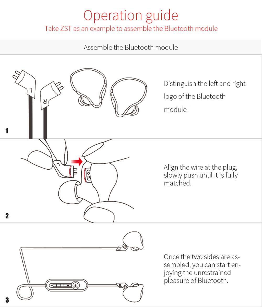 Kz Module Detachable Bluetooth Cable (12)
