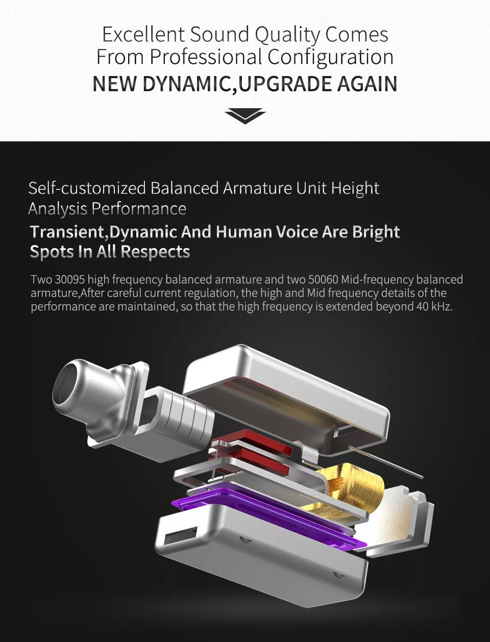 Kz Zs10 Pro 4 Balanced Armature Dynamic Drivers Hybrid Earphone Heavy Bass 3 5mm Wired Earbuds (1)