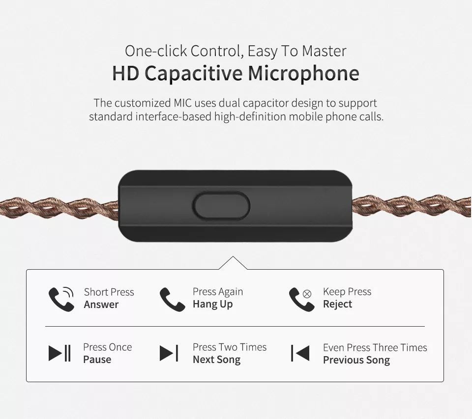 Kz Zs10 Pro 4 Balanced Armature Dynamic Drivers Hybrid Earphone Heavy Bass 3 5mm Wired Earbuds (8)