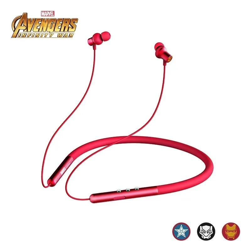 Marvel Avengers Infinity War Stereo Neckband Sports Wireless Bluetooth Headset (2)