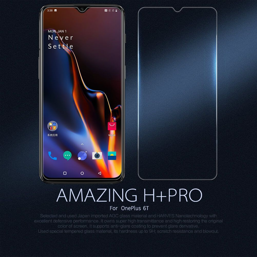 Nillkin Amazing H Pro Tempered Glass Screen Protector For Oneplus 7 (1)