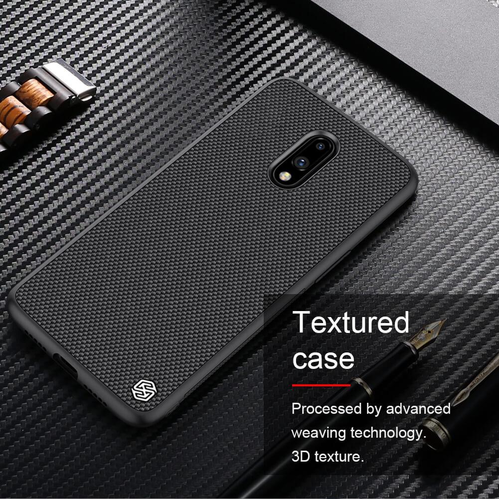 Nillkin Textured Nylon Fiber Case For Oneplus 7 (5)