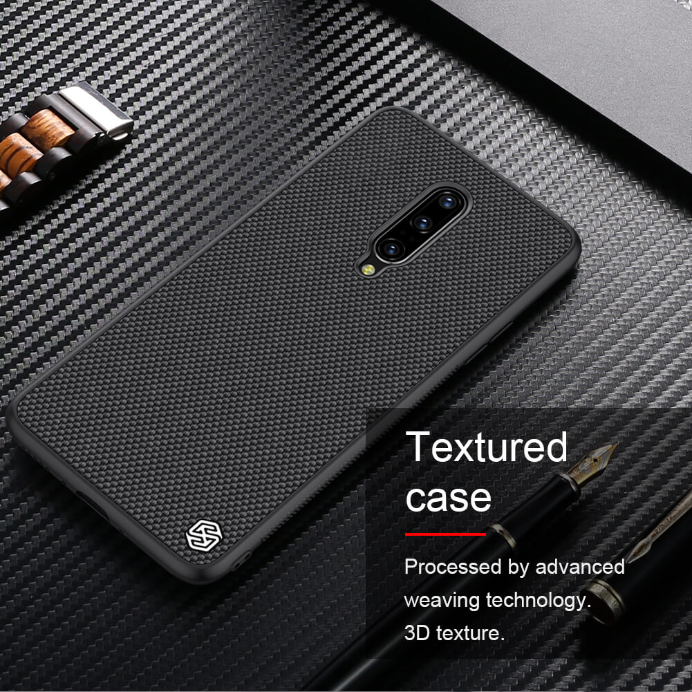 Nillkin Textured Nylon Fiber Case For Oneplus 7 Pro (14)