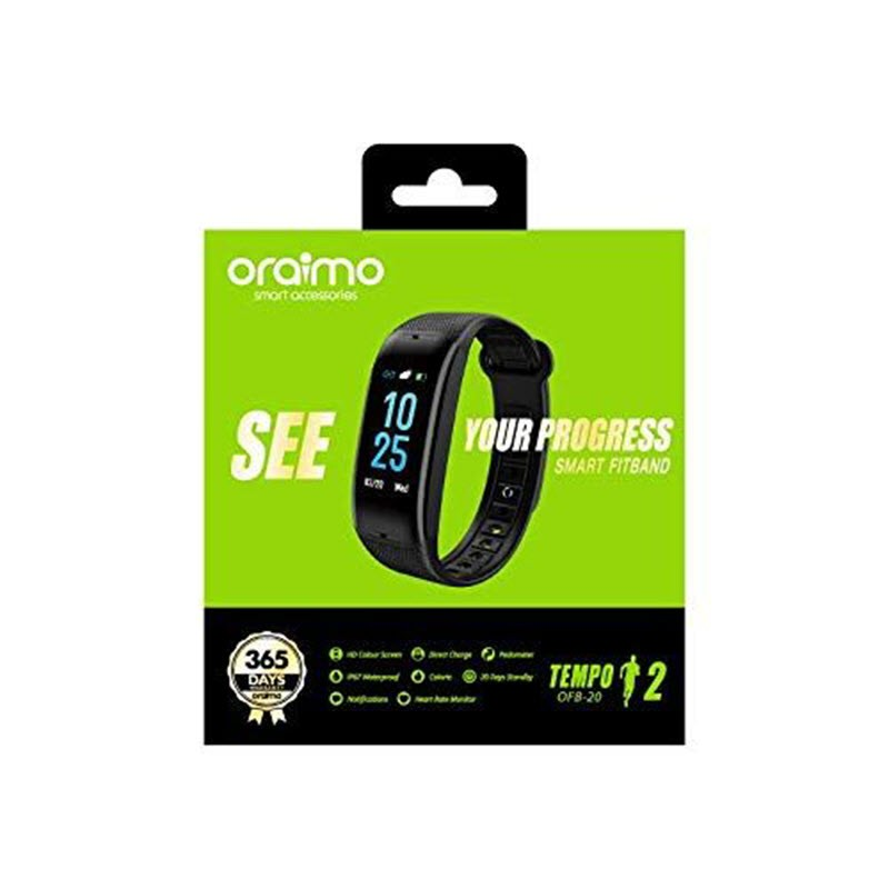 Oraimo Tempo 2 Ofb 20 Fitness Band With Color Display (4)