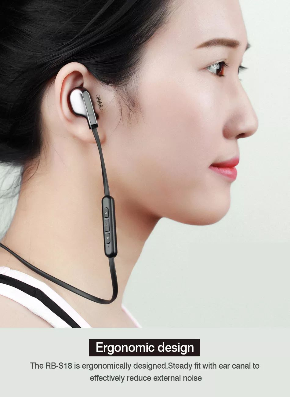 Remax Rb S18 Magnetic Wireless Bluetooth (3)