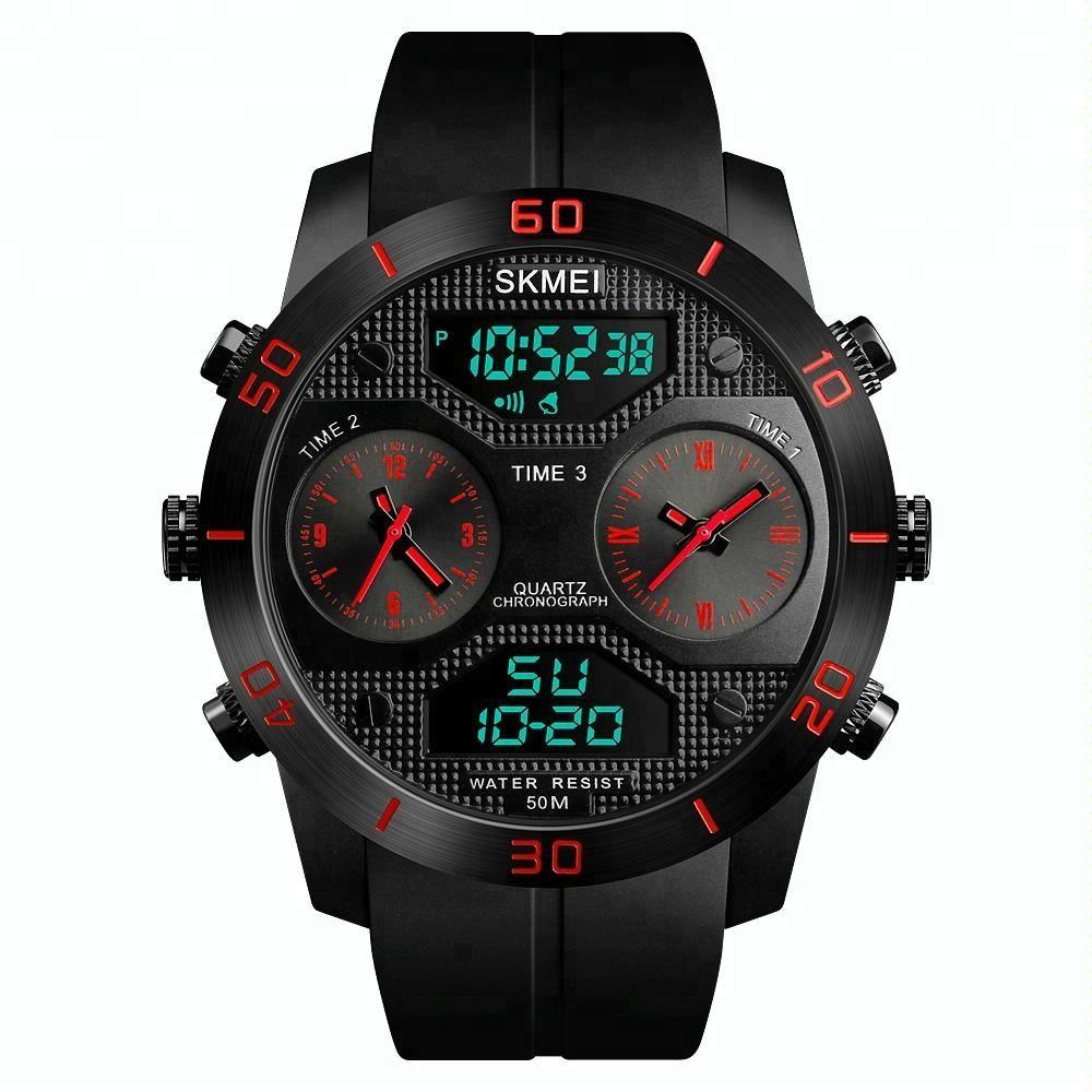 Skmei 1355 Waterproof Chronograph Digital Analog Watch (6)