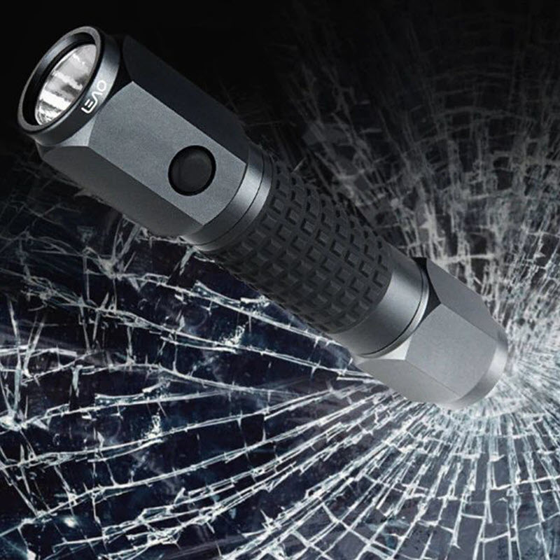 Xiaomi 4 In 1 Leao A10 Led Flashlight Car Safety Hammer (2)