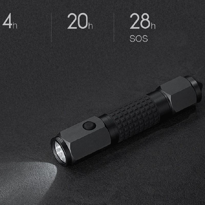 Xiaomi 4 In 1 Leao A10 Led Flashlight Car Safety Hammer (3)