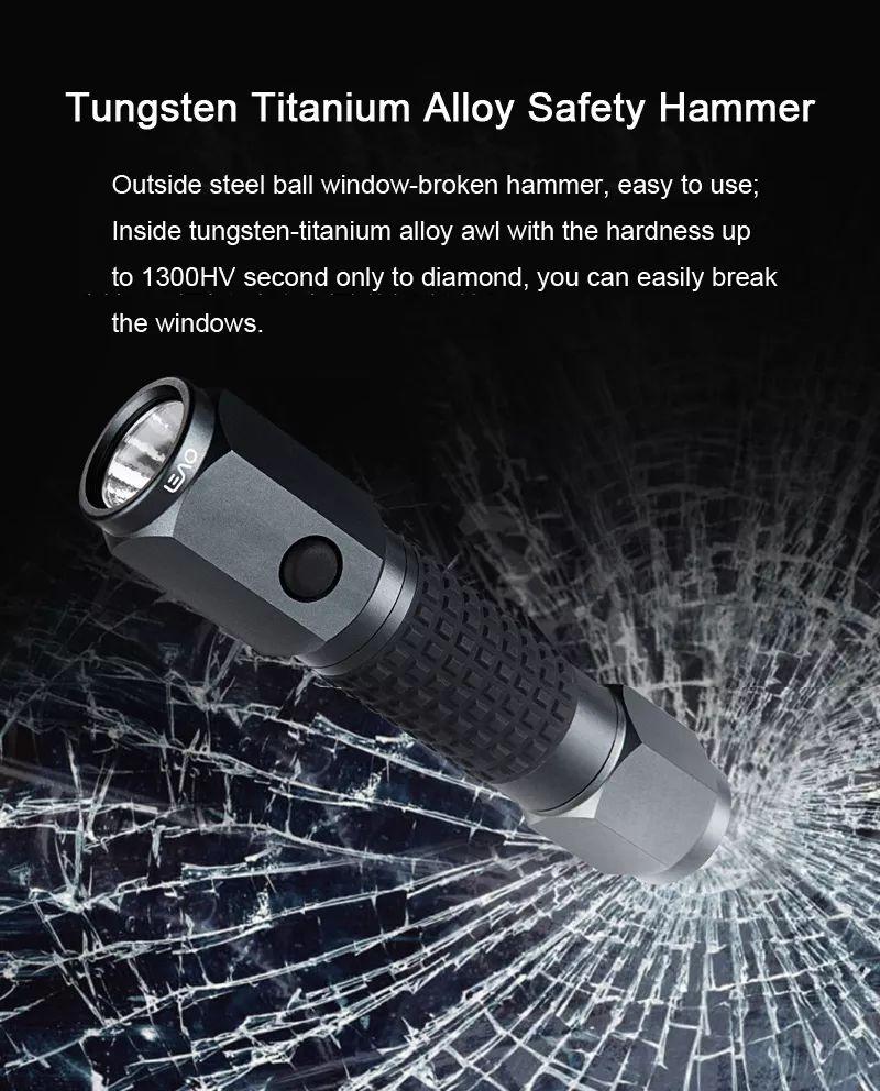 Xiaomi 4 In 1 Leao A10 Led Flashlight Car Safety Hammer (7)