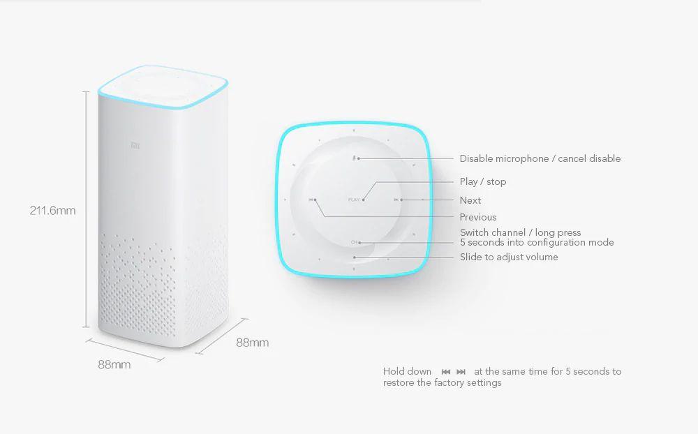Xiaomi Ai Smart Voice Control Bluetooth Speaker (10)