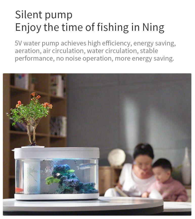 Xiaomi Geometry Fish Tank Transparent Aquarium (1)