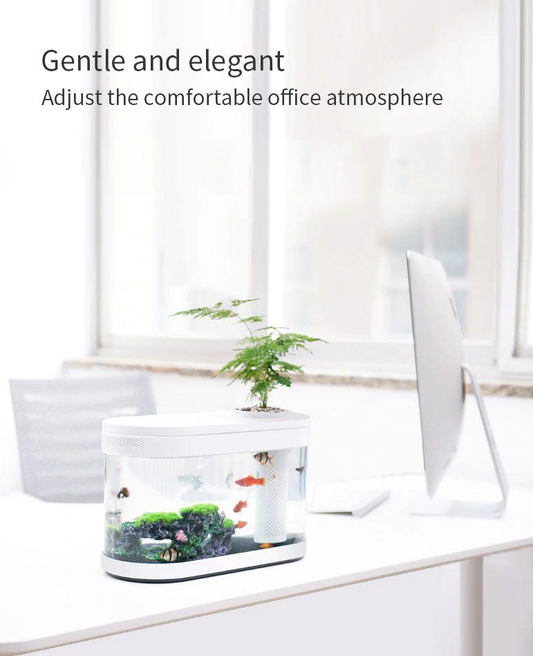 Xiaomi Geometry Fish Tank Transparent Aquarium (10)