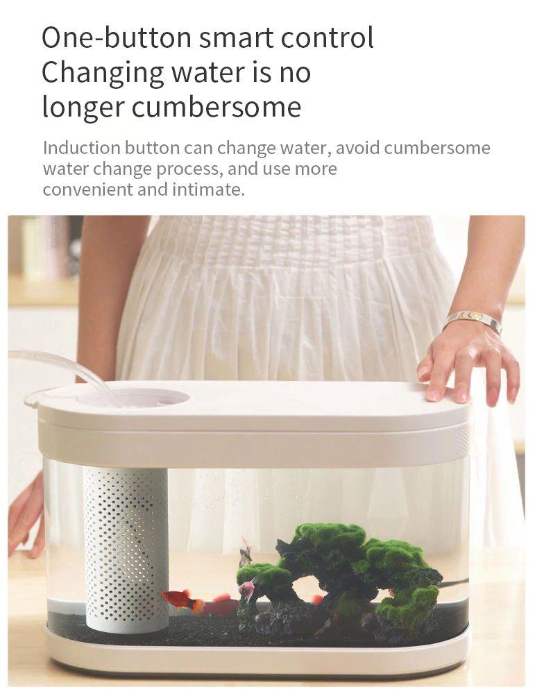 Xiaomi Geometry Fish Tank Transparent Aquarium (2)