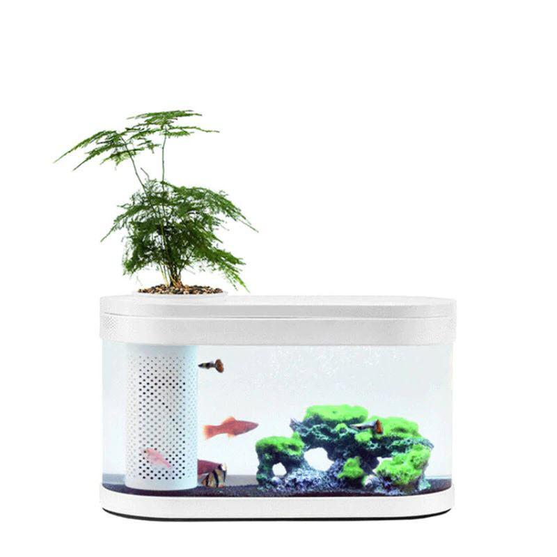 Xiaomi Geometry Fish Tank Transparent Aquarium (3)
