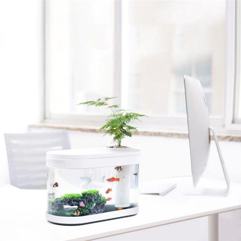Xiaomi Geometry Fish Tank Transparent Aquarium (4)