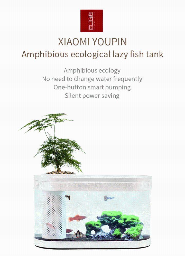 Xiaomi Geometry Fish Tank Transparent Aquarium (8)