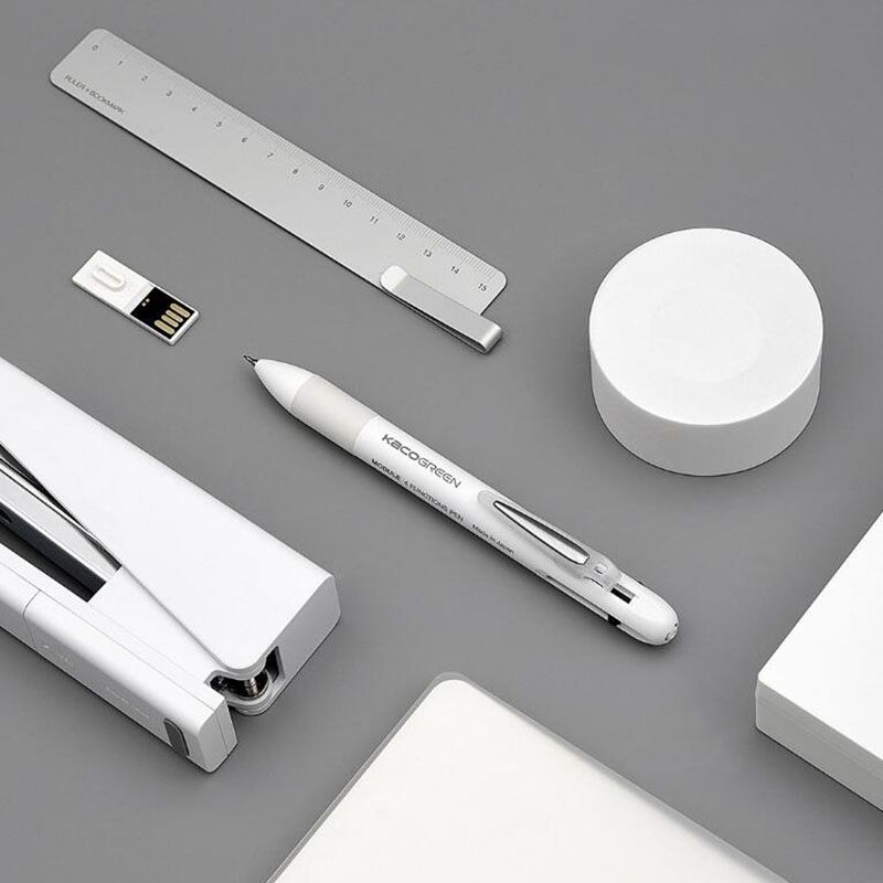 Xiaomi Kaco 4 In 1 Multifunction Pens 3 Color And Mechanical Pencil (9)