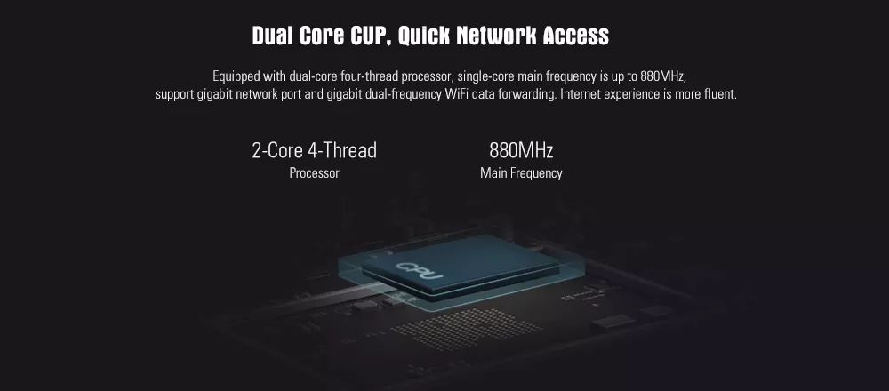 Xiaomi Mi 4a Dual Band Router Gigabit Edition (2)