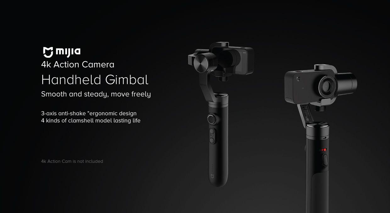 Xiaomi Mi Action Camera Handheld Gimbal 3 Axis (1)