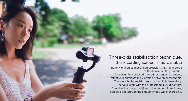 Xiaomi Mi Action Camera Handheld Gimbal 3 Axis (2)