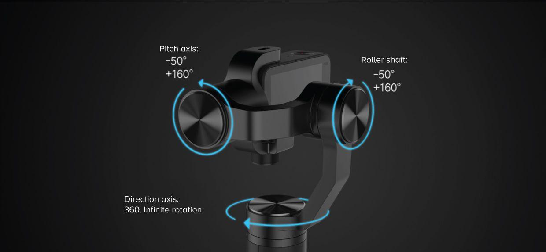 Xiaomi Mi Action Camera Handheld Gimbal 3 Axis (3)