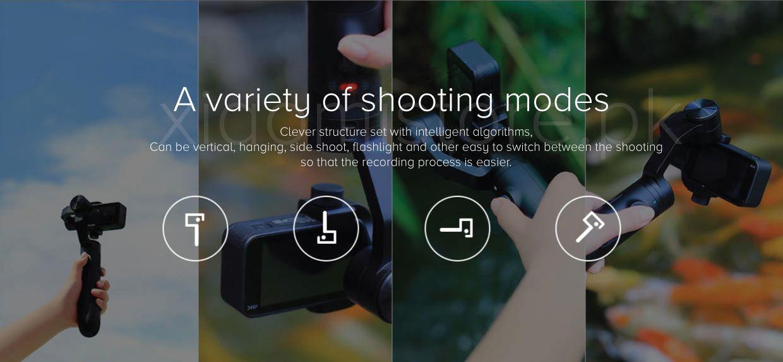 Xiaomi Mi Action Camera Handheld Gimbal 3 Axis (4)