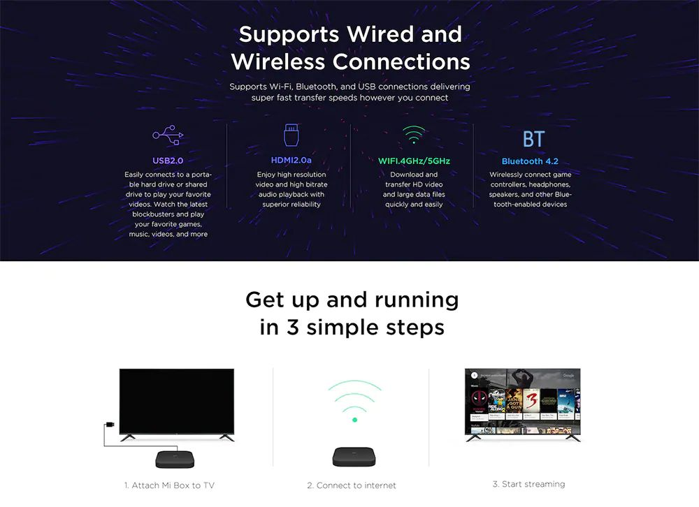 Xiaomi Mi Box S 4k Hdr Android Tv With Google Assistant (6)