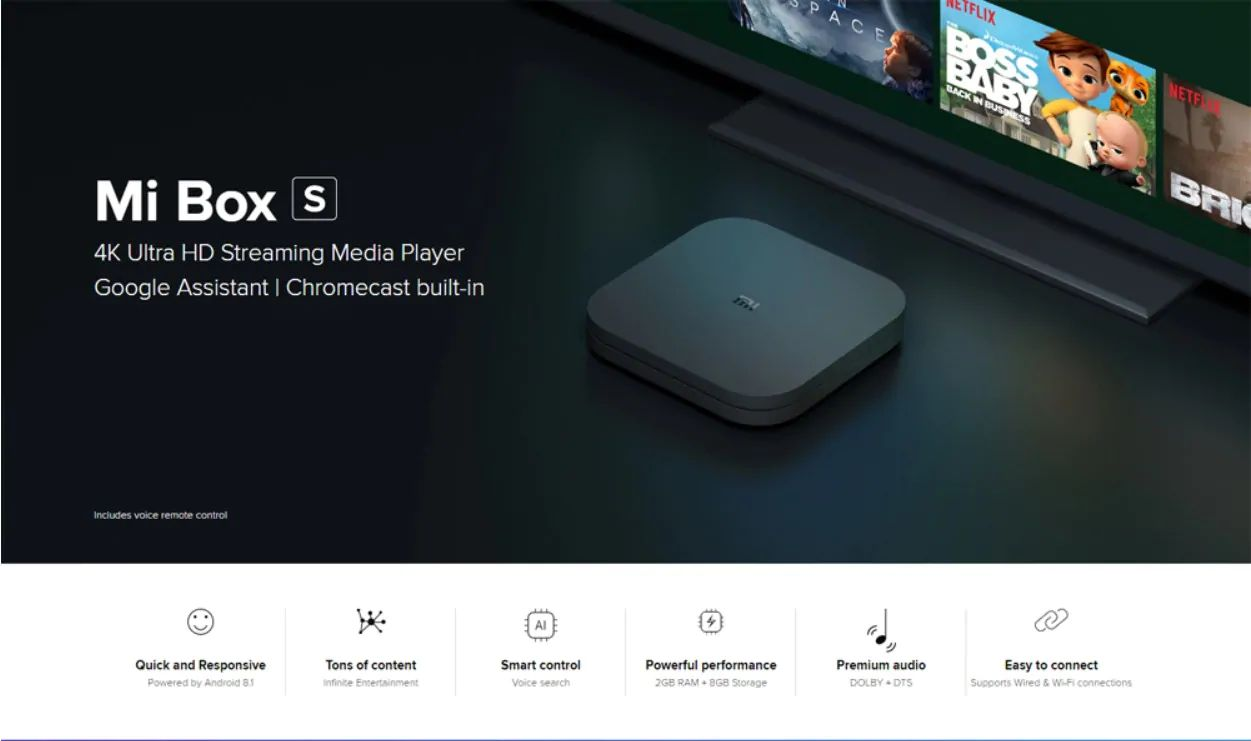 Xiaomi Mi Box S 4k Hdr Android Tv With Google Assistant (7)