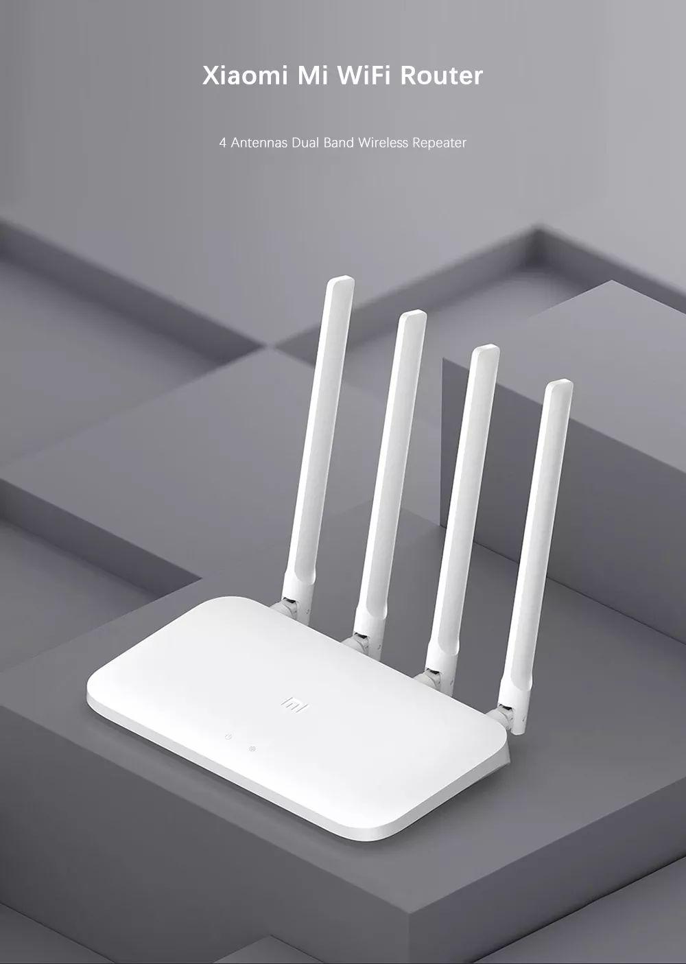 Xiaomi Mi Router 4a Dual Band With 4 Antennas (1)