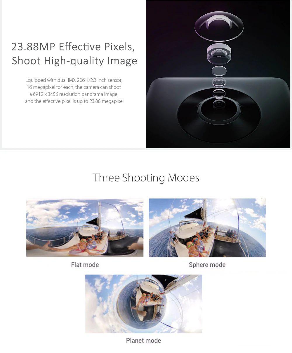 Xiaomi Mi Sphere Camera 4k 360panorama Action Camera (11)