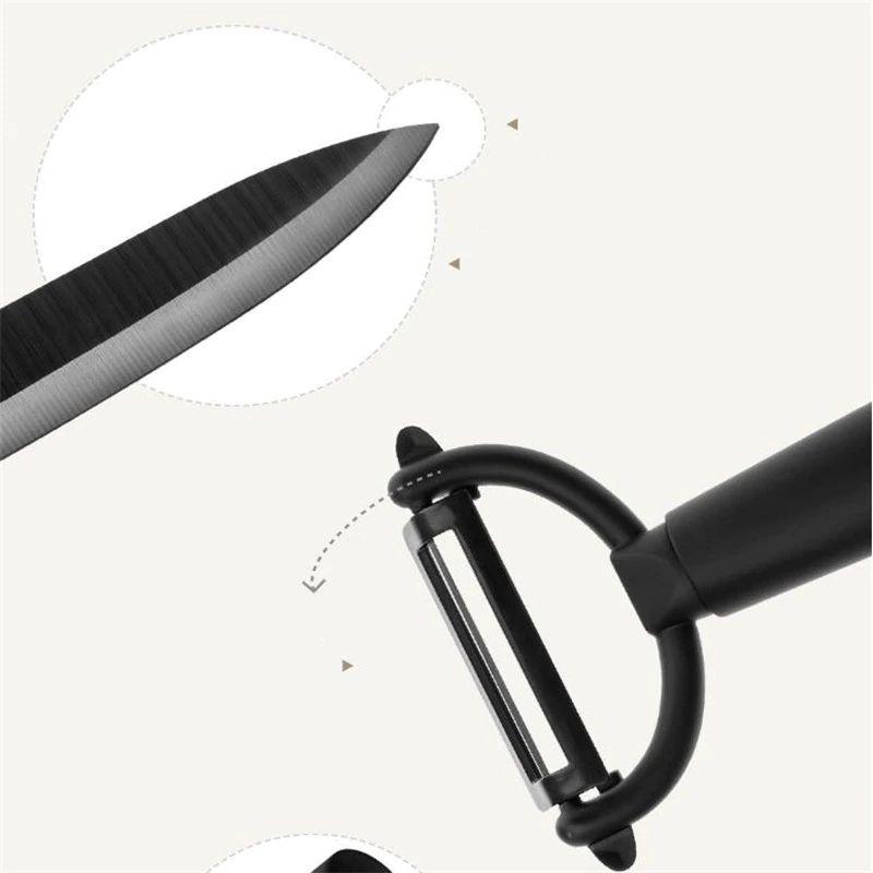 Xiaomi Mijia Huohou Kitchen Knives Set 4 Pcs (1)