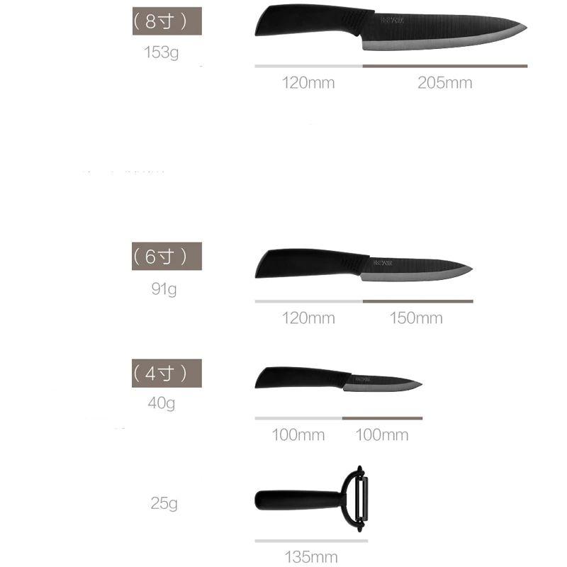 Xiaomi Mijia Huohou Kitchen Knives Set 4 Pcs (7)