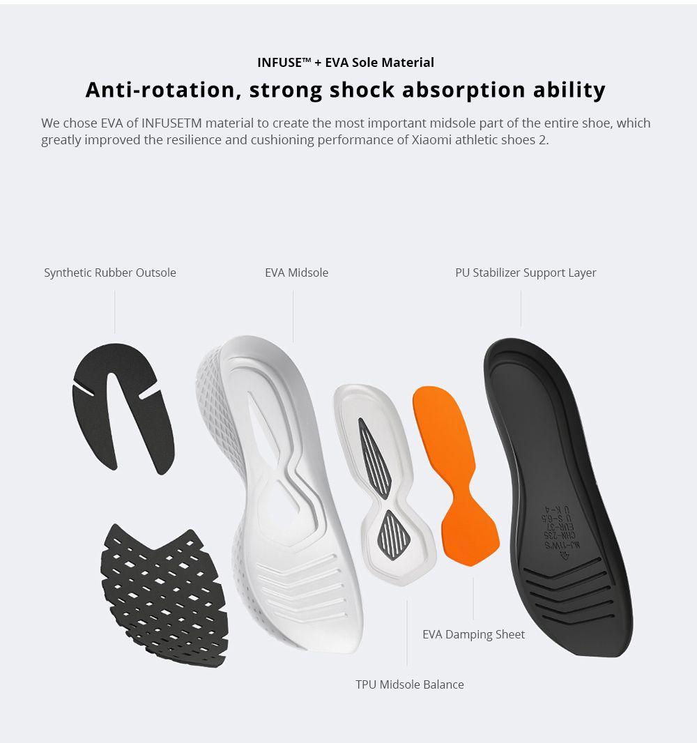 Xiaomi Mijia Sneakers 2 Sport Running Shoes (5)